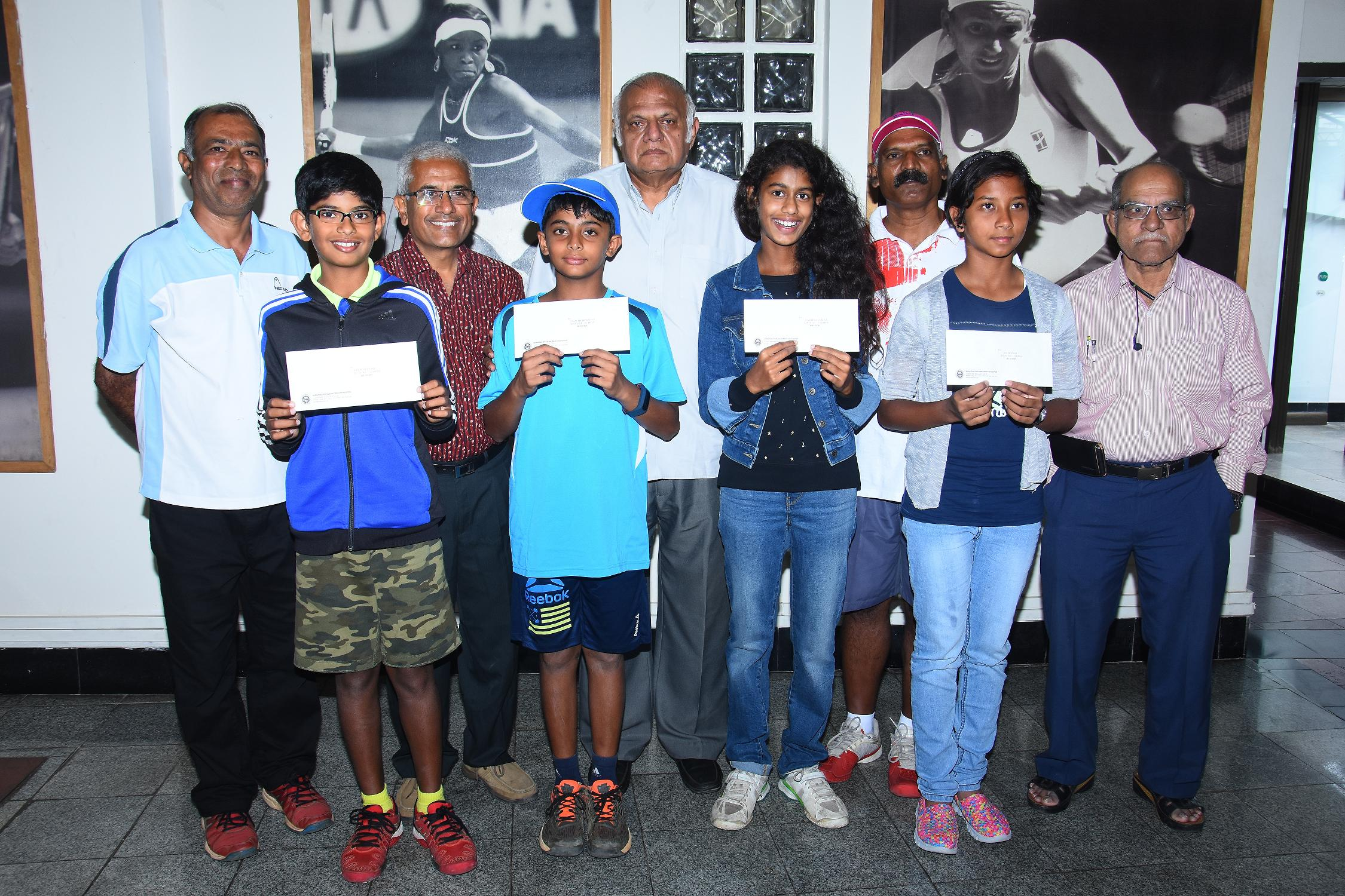 KSLTA Felicitates  Young Champs