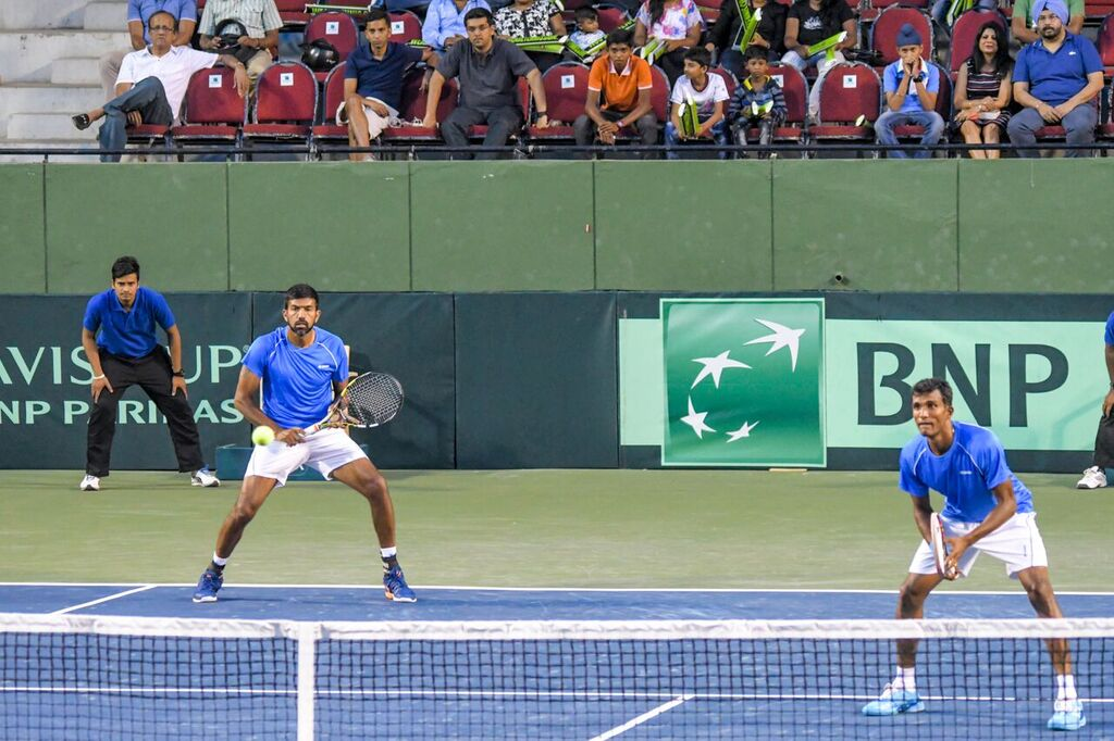 Davis Cup: Bopanna and Balaji seal India's place in World Group play-offs