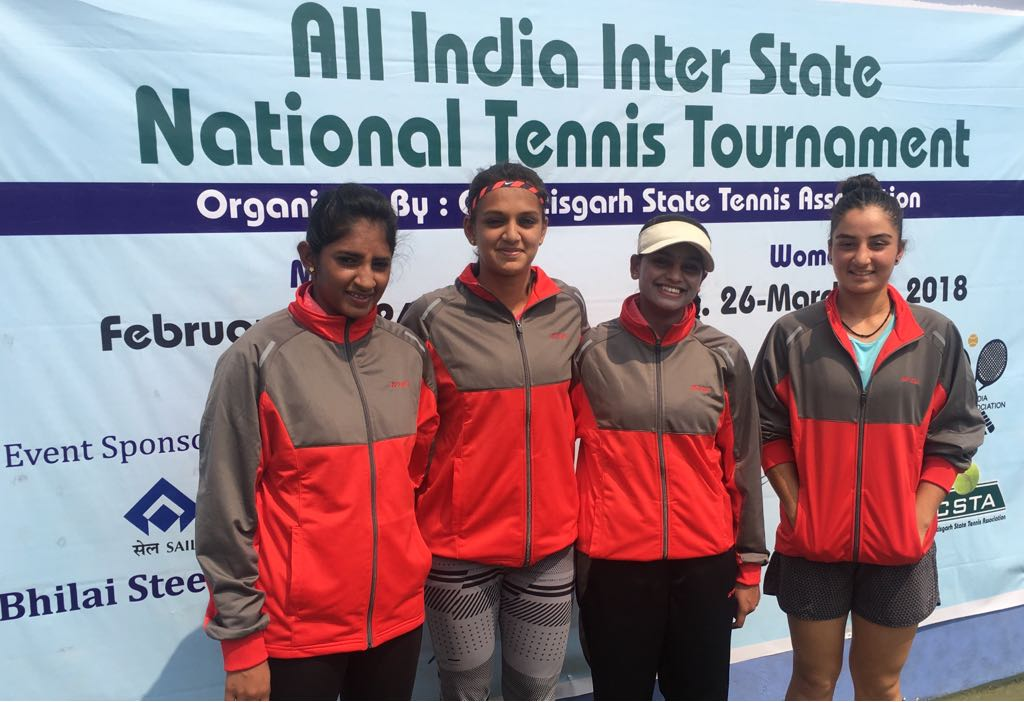 Karnataka Women's Team bagged bronze medal