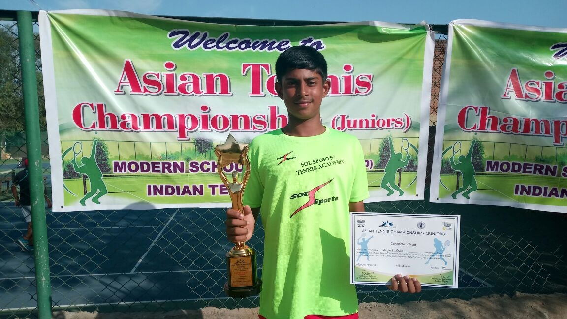 Asian Tennis Championships Aayush Bhat