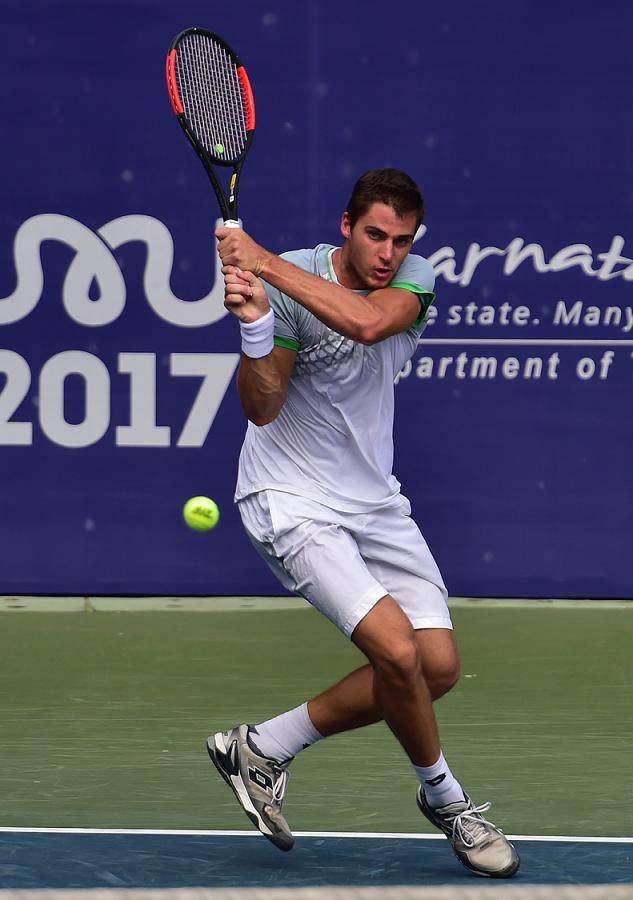 Gojo sends second seed home at Bengaluru Open 2017