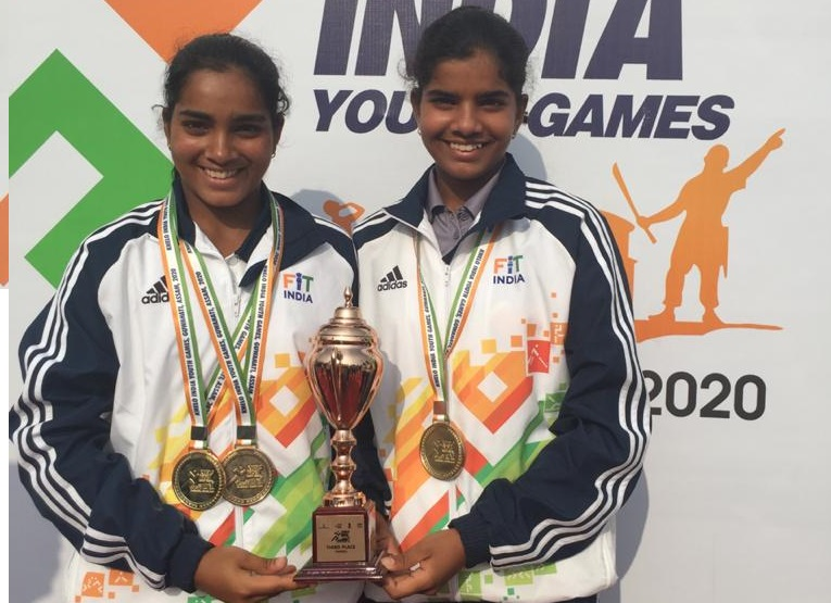 Karnataka Player Reshma Maruri  won Gold Medal in U17 KHELO INDIA Girls Singles.