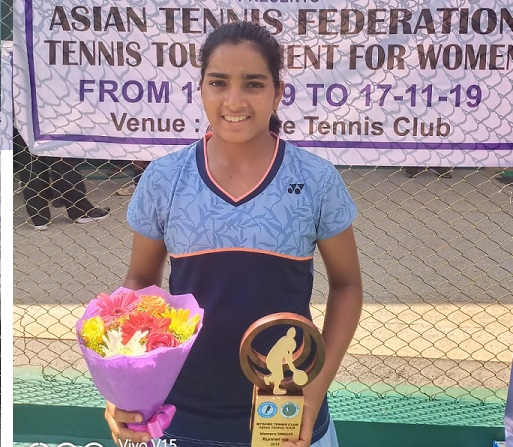 Reshma is runner up in  Asian Tennis Tour  $3000