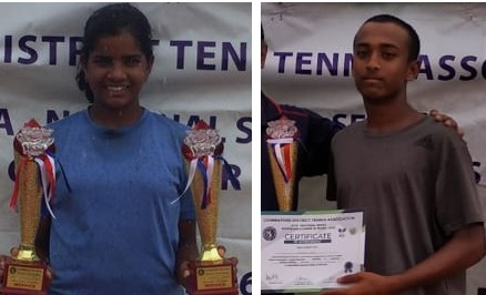 Golden day for Karnataka in National Level Tennis Championship in Coimbatore
